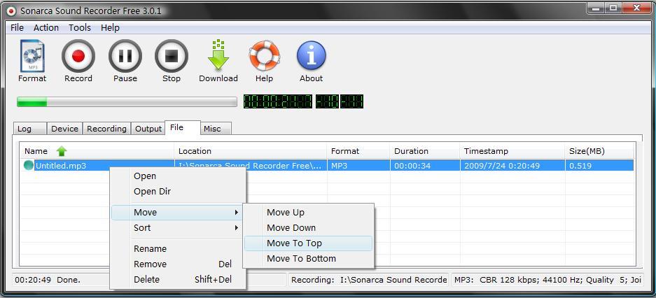 stream recording free sound recorder screenshots 1 2